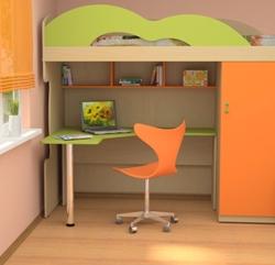 Детская мебель с письменным столом для прилежных учеников