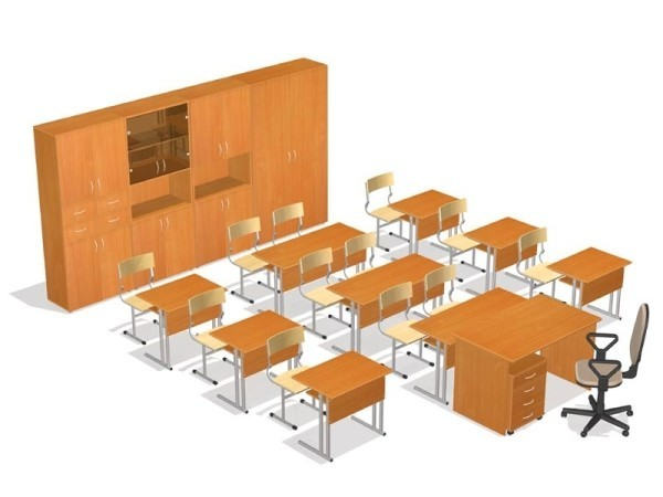 Качественная учебная мебель для школ – сохраните детское здоровье