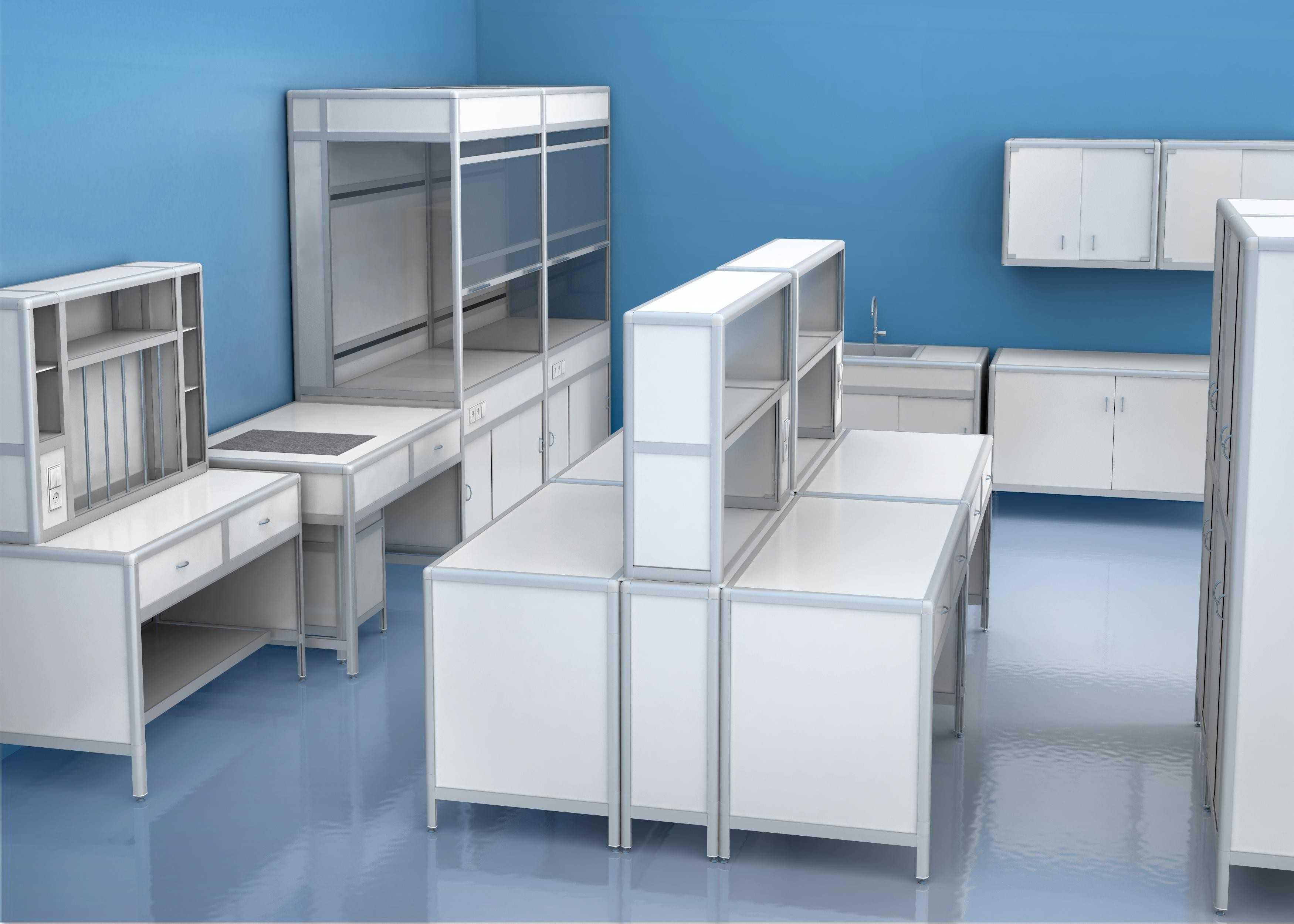 Медицинская мебель: столы и другие предметы